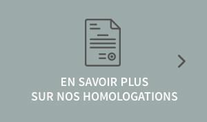 Homologations NCI France